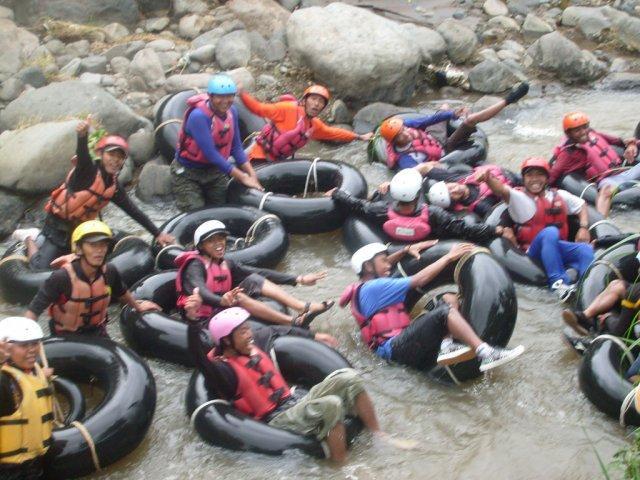 Kaliwatu Rafting, Area Arung Jeram yang cukup bagus di Batu
